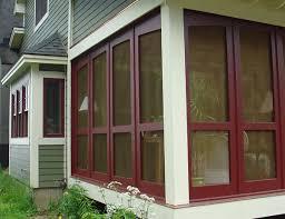 solid wood craftsman porch panels 3 season porch panels screen