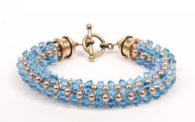 bead weave bracelet images Cubic right angle weave instructions for a sparkling swarovski jpg