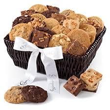 mrs fields gift baskets mrs fields cookie brownie sympathy gift baskets