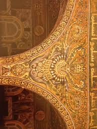 Dome Of Rock Interior Color Theory And The Dome Of The Rock Art In The Age Of The Caliphs