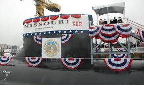 Misouri Flag Uss Missouri Ssn 780 U2013 Wikipedia