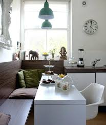 Banquette Seating Ideas Baxton Studio Witherby Linen Modern Banquette Bench Gray Full