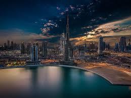 city dubai arabic dream burj khalifa united arab emirates desktop
