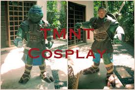 leonardo ninja turtle halloween costume tmnt ninja turtles 2014 leonardo cosplay youtube