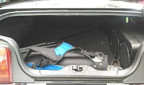 mustang convertible trunk 2011 ford mustang term road test cargo space
