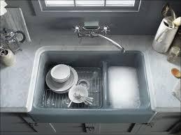 Undermount Cast Iron Kitchen Sink by Kohler K 6427 0 White Whitehaven 35 11 16