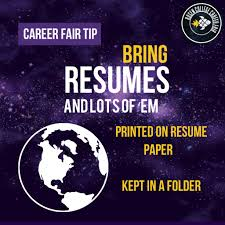 How To Prepare Resume For Job Fair by Prepare For The Career Fair