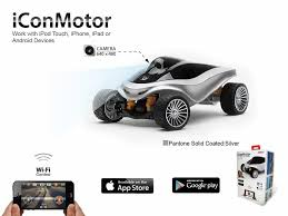 smart car emperor of gadgets iconmotor smartphone controlled rc smart car