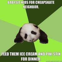 Pick Up Line Panda Meme - passive aggressive panda image gallery know your meme