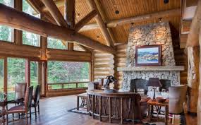 log homes interiors wyoming log homes yellowstone log homes