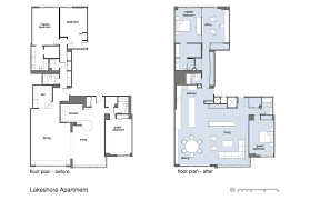 the lakeshore floor plan lakeshore apartment small project awards aia chicago