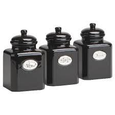 black kitchen canister sets canisters black kitchen canisters sets black and white