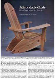 Adirondack Deck Chair Outdoor Wood Plans Download by Adirondack Chair And Ottoman Plans Outdoor Furniture Plans