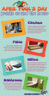 thanksgiving day pranks april fools day pranks around the house infographic real