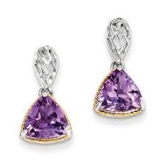 amethyst earrings earrings amethyst sears
