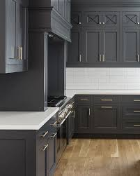 Best Color Kitchen Cabinets Best 25 Black Kitchen Cabinets Ideas On Pinterest Gold Kitchen