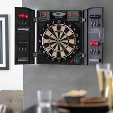 bullshooter by arachnid e bristle 1000 electronic dart board