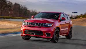 2018 jeep grand wagoneer interior 2018 jeep grand cherokee trackhawk packs 707 horsepower the