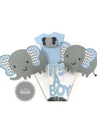 elephant baby shower centerpieces baby shower centerpiece alldiapercakes