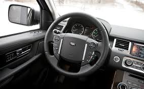 range rover steering wheel 2012 range rover sport hse editors u0027 notebook automobile magazine