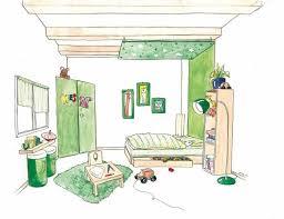 chambre feng shui plan comment faire une chambre feng shui