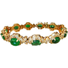 diamond emerald bracelet images Natural emerald diamond bracelet tennis bracelet oval cut diamond jpg