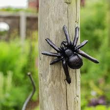 cast iron wall spider ornaments x 3 ebay