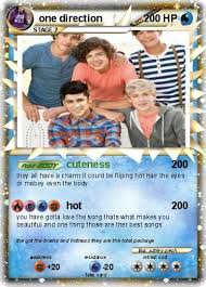 one direction cards pokémon one direction 39 39 cuteness my card
