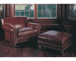 classy idea leather chair and a half davis leather chair half