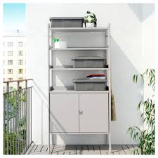 Outdoor Storage Cabinets With Shelves Best Of Ikea 2017 Potting Shed And Garden Storage Gardenista