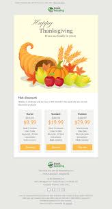 thanksgiving day email templates free thanksgiving day html email