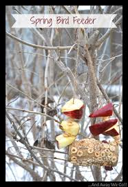 craft ideas for kids spring bird feeder the taylor house