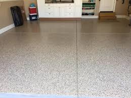 epoxy floor in apex nc garage by witcraft decorative concrete
