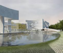 clocks and clouds inspire steven holl u0027s shanghai culture and