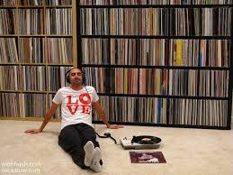 Vinyl Record Bookcase Ikea Expedit Vinyl Record Storage Solution Audiophile Vintage