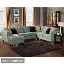 Sectional Sofas Overstock Shop For Furniture Of America Zeal Lavish Contemporary 3