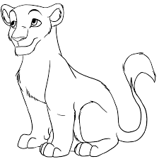 how to draw a lion cub roadrunnersae