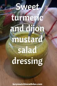 sweet turmeric salad dressing lucy u0027s nutritional bites