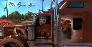 kenworth custom parts kenworth w900 the bears den khross custom mod for ats euro truck
