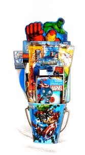 Man Gift Basket Buy Avengerss Hulk Captain America Iron Man Thor Filled Pail Gift