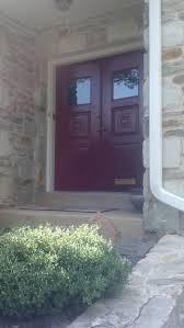 benjamin moore dinner party red front door love it perfect pop