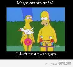 Homer Meme - homer n marge meme by pleif memedroid