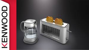 Kenwood Kettle And Toaster Kenwood Persona Glass U2013 The Difference Is Clear Youtube