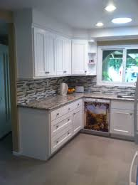 white bead board cabinet doors cambria quartz bellingham glass
