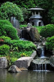 Backyard Waterfalls Ideas Triyae Com U003d Backyard Japanese Waterfall Garden Various Design