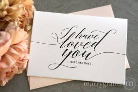 card to groom from on wedding day wedding day gifts for your