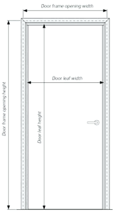 Standard Door Width Interior Size Of Standard Bedroom Door Standard Window Sizes Photo 3 Of 9