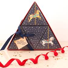 milly green carousel pyramid chocolate gift set