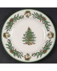 spectacular deal on spode tree garland salad plate