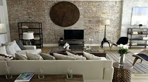 Interior Designer Ideas Exposed Brick Wall Living Room Ideas Captivating Exposed Brick